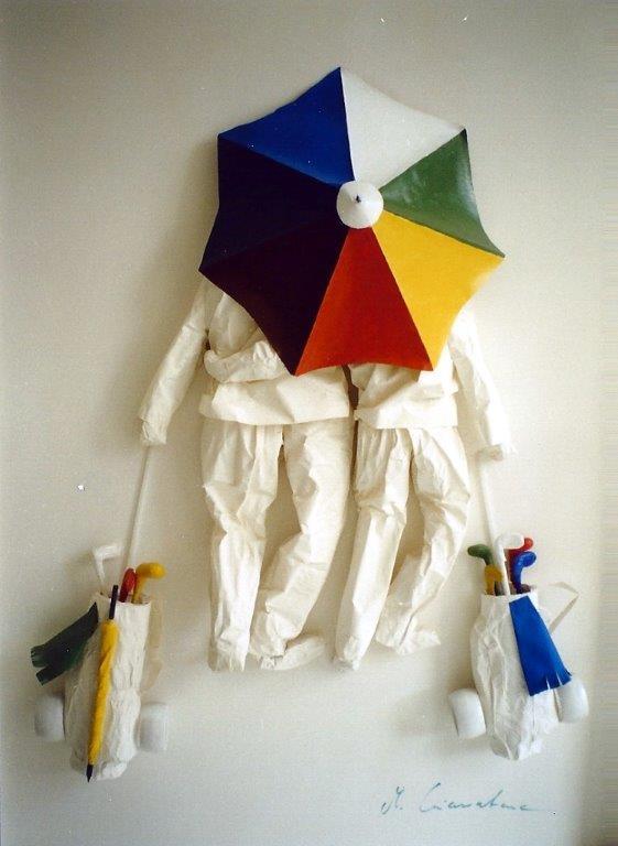 Monica Giarratana_Kunstwerk_Golfer