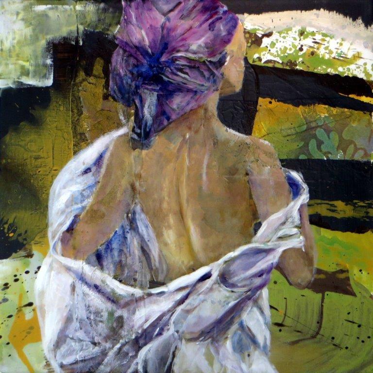 Monica Giarratana_Kunstwerk_Mädchen nach dem Bad
